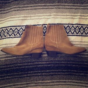 """Myer"" Hidden Wedge Matisse Booties ~ size 7"